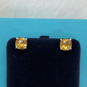 Tiffany &. Co. Citrine Sparkler Earrings RARE